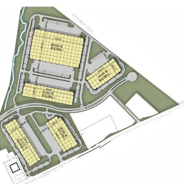 ULR - UD 30 Site plan